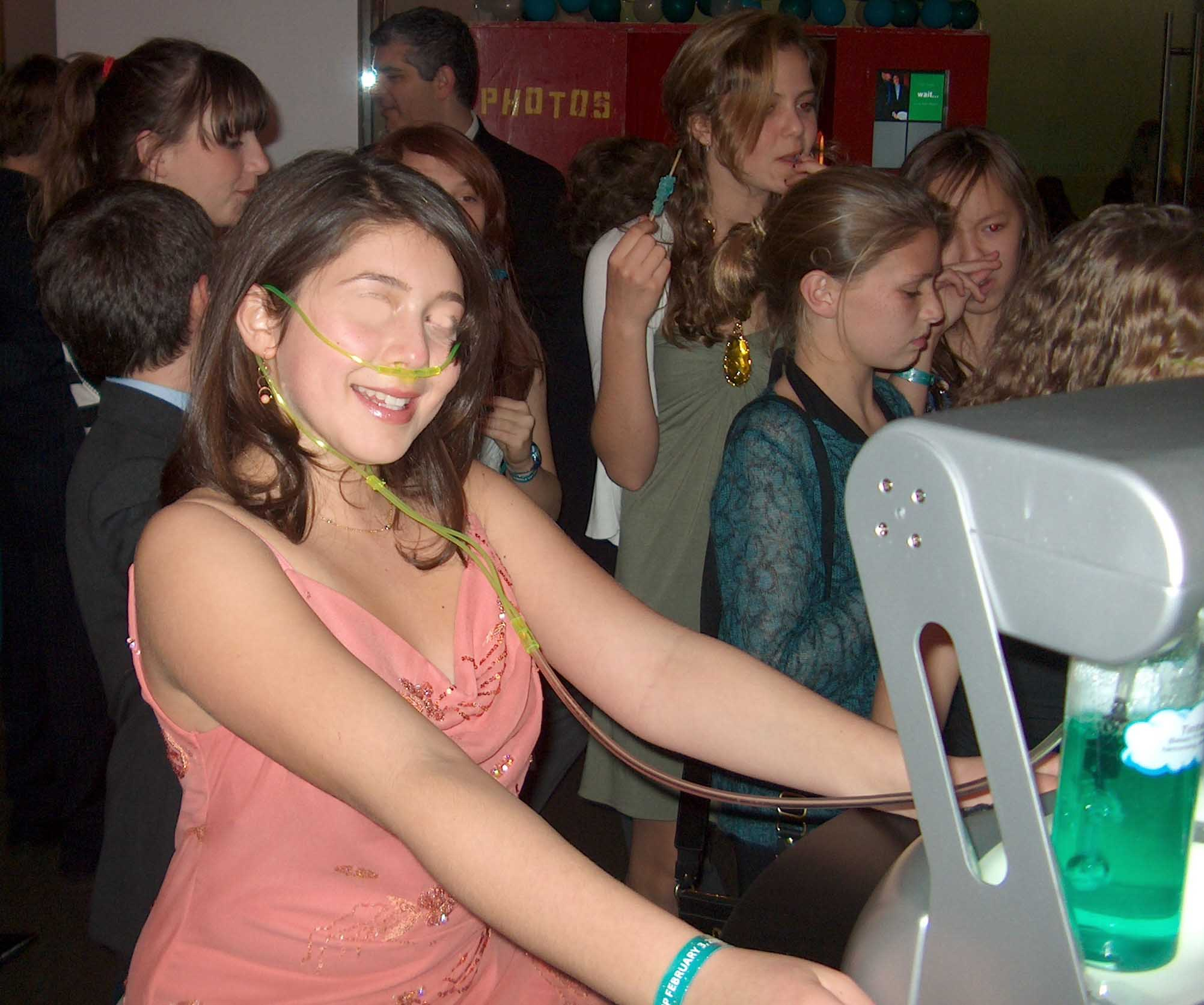 Oxygen Bar at Bar Mitzvah
